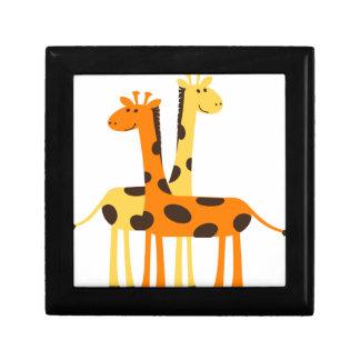 giraffe africa safari wildlife gift box