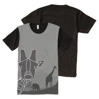 giraffe All-Over print T-Shirt
