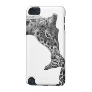 Giraffe and Calf Speck Case iPod Touch 5G Cases