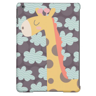 Giraffe and Clouds Case For iPad Air