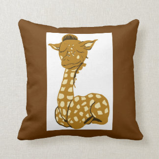 Giraffe And Monkey American MoJo Pillow Cushion