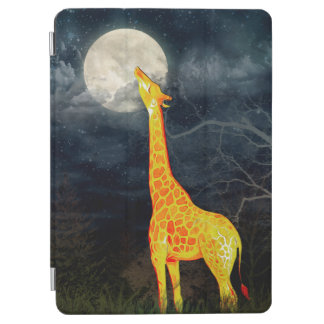 Giraffe and Moon | iPad 2/3/4/Mini/Air Covers iPad Air Cover