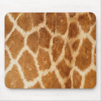Giraffe Animal Fur Print Texture Pattern Mouse Pad