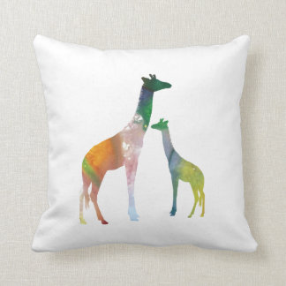 Giraffe Art Cushion