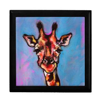 Giraffe Art Print Gift Box
