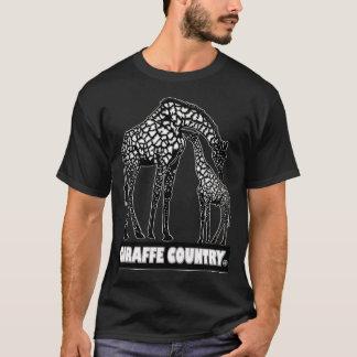 Giraffe & Baby Animal Country Designer Clothes T-Shirt