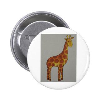 giraffe pinback buttons
