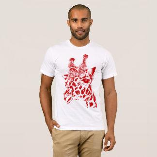 """Giraffe"" Basic American Apparel T-Shirt"