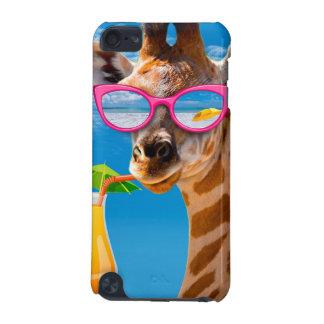 Giraffe beach - funny giraffe iPod touch 5G cover