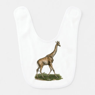 Giraffe Bib for Fledgling Giraffe Lovers
