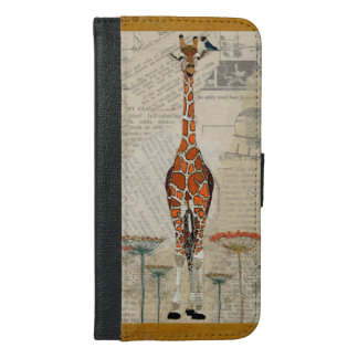 GIRAFFE & BIRD FLORAL CASE