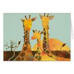 Giraffe: Blank Card
