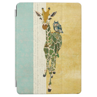 GIRAFFE & BLUE OWL iPad Case iPad Air Cover
