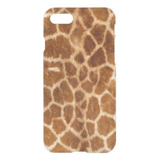 Giraffe Body Skin iPhone 7 Clearly™ Deflector Case
