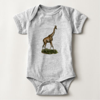 Giraffe Bodysuit for Fledgling Giraffe Lovers