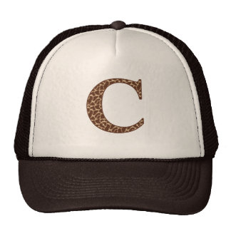 Giraffe C Mesh Hats