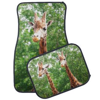 Giraffe Car Mat