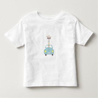Giraffe Car Toddler T-Shirt