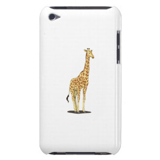 Giraffe cartoon barely there iPod case