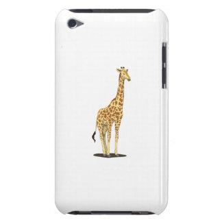 Giraffe cartoon barely there iPod case