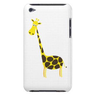 Giraffe cartoon Case-Mate iPod touch case
