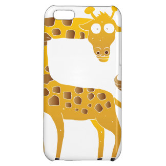 giraffe cartoon. cover for iPhone 5C