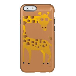 giraffe cartoon. incipio feather® shine iPhone 6 case