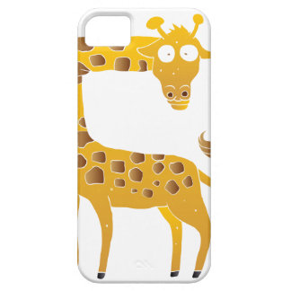 giraffe cartoon. iPhone 5 cases