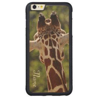 Giraffe Carved® Maple iPhone 6 Plus Bumper Case