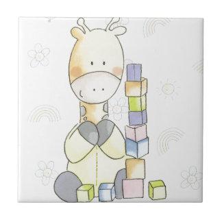 Giraffe Ceramic Tile
