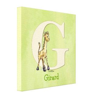 Giraffe - childs room print