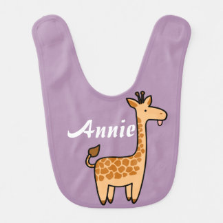 Giraffe Custom Baby Bib