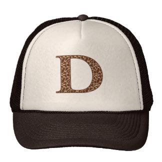 Giraffe D Trucker Hat