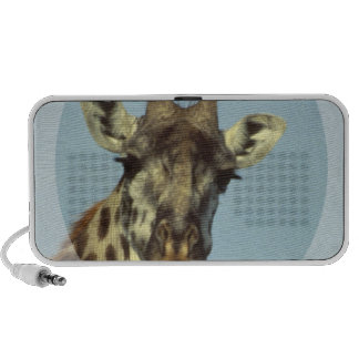 Giraffe Design Portable Speakers
