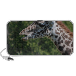 Giraffe Eating Portable Speaker