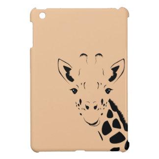 Giraffe Face Silhouette Cover For The iPad Mini