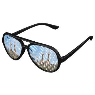 Giraffe Family Aviator Sunglasses