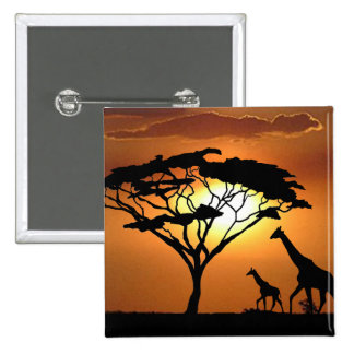 giraffe family pins