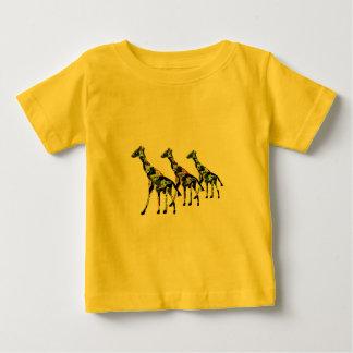 Giraffe Family Outing T-shirts