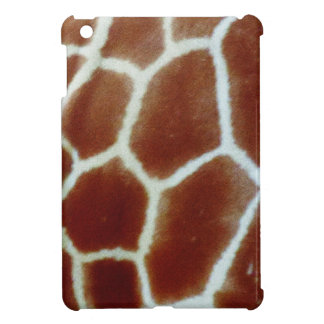giraffe faux fur iPad mini cover