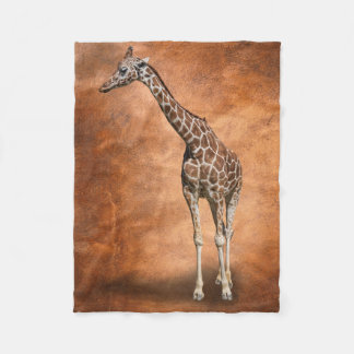 GIRAFFE FLEECE BLANKET