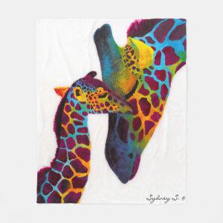 Giraffe Fleece Blanket
