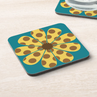 Giraffe Flower Coasters by Florence Dashiell