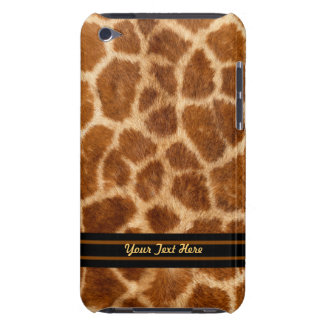 Giraffe Fur iPod Touch Case-Mate - Personalise iPod Touch Covers