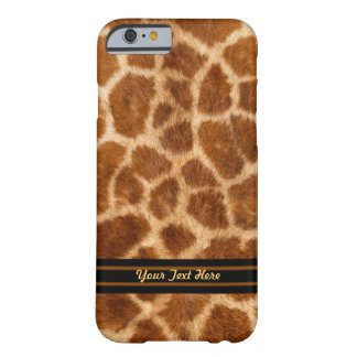 Giraffe Fur Pattern - Barely There - Personalize Barely There iPhone 6 Case