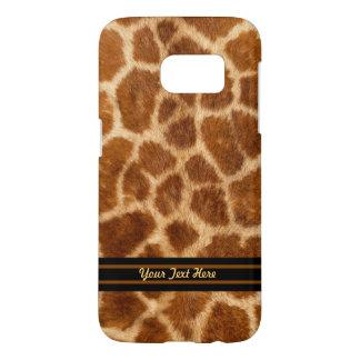 Giraffe Fur Samsung Galaxy S Case  - Personalize