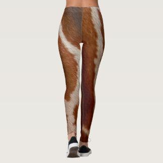 Giraffe Fur | Wild Animal Print Pattern Leggings