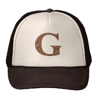 Giraffe G Cap