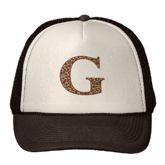 Giraffe G Mesh Hat