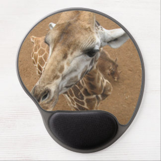 Giraffe Gaze Gel Mouse Pads